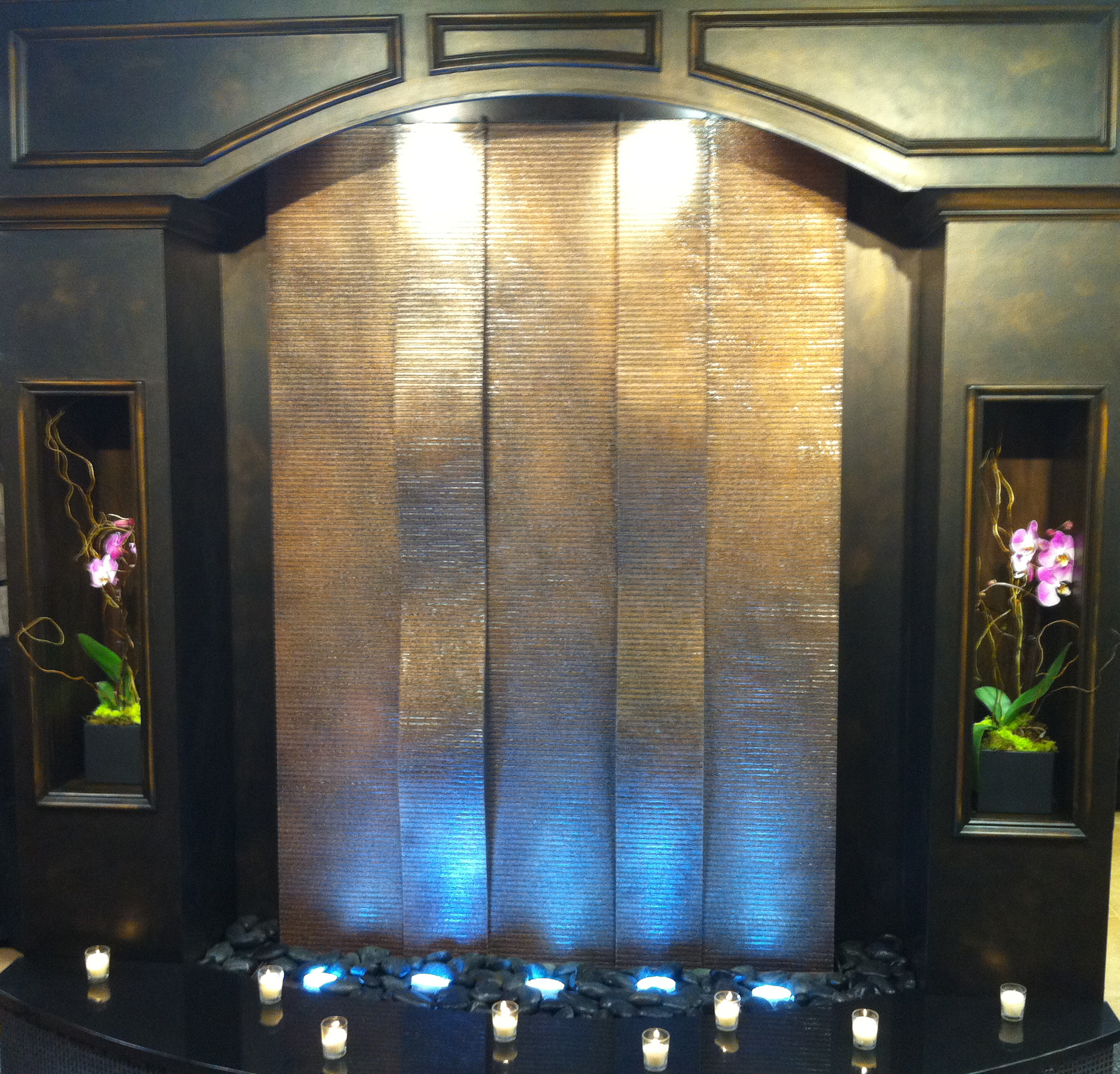 Aquafall water walls indoor water wall fountains by midwest tropical workwithnaturefo