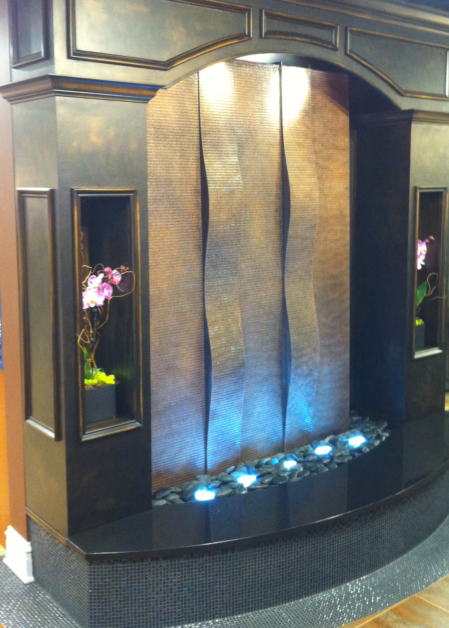 Aquafall Water Walls: Indoor Water Wall Fountains by Midwest Tropical